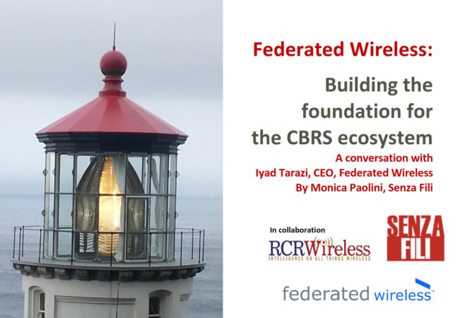 Senza Fili_Building the Foundation for the CBRS Ecosystem