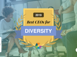 2019 Comparably Award for Best CEOs for Diversity
